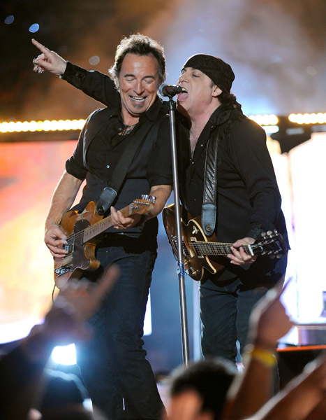 Bruce Springsteen and The E Street Band in 2009