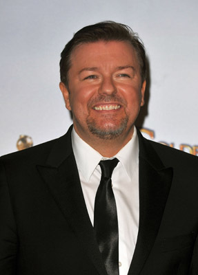 Ricky Gervais at the 66th Annual Golden Globe Awards