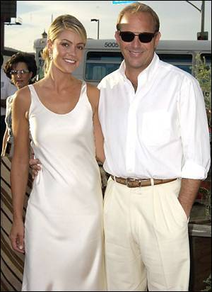 Kevin Costner and wife Christine