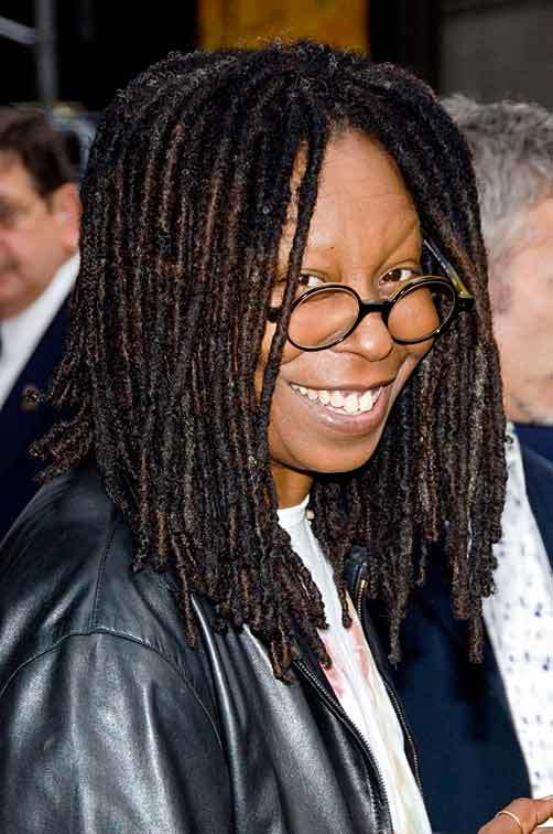 Whoopi Goldberg retna via msn