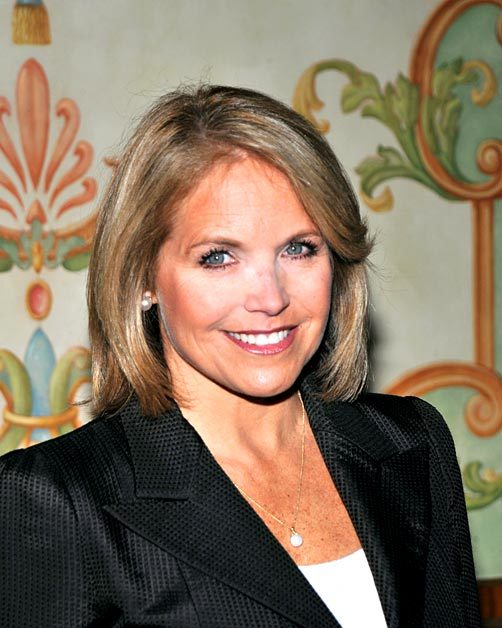 Katie Couric Retna via MSN