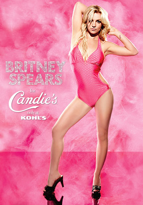 Britney Spears Candies Ad