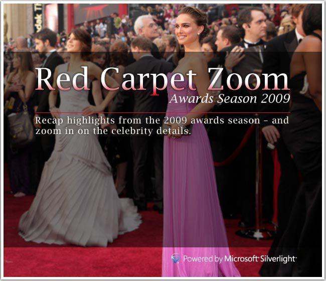 MSN Silverlight Red Carpet