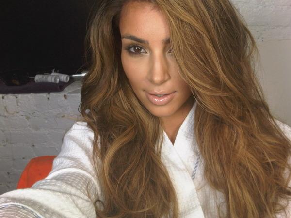Kim Kardashian Twitter Blond Photo 1