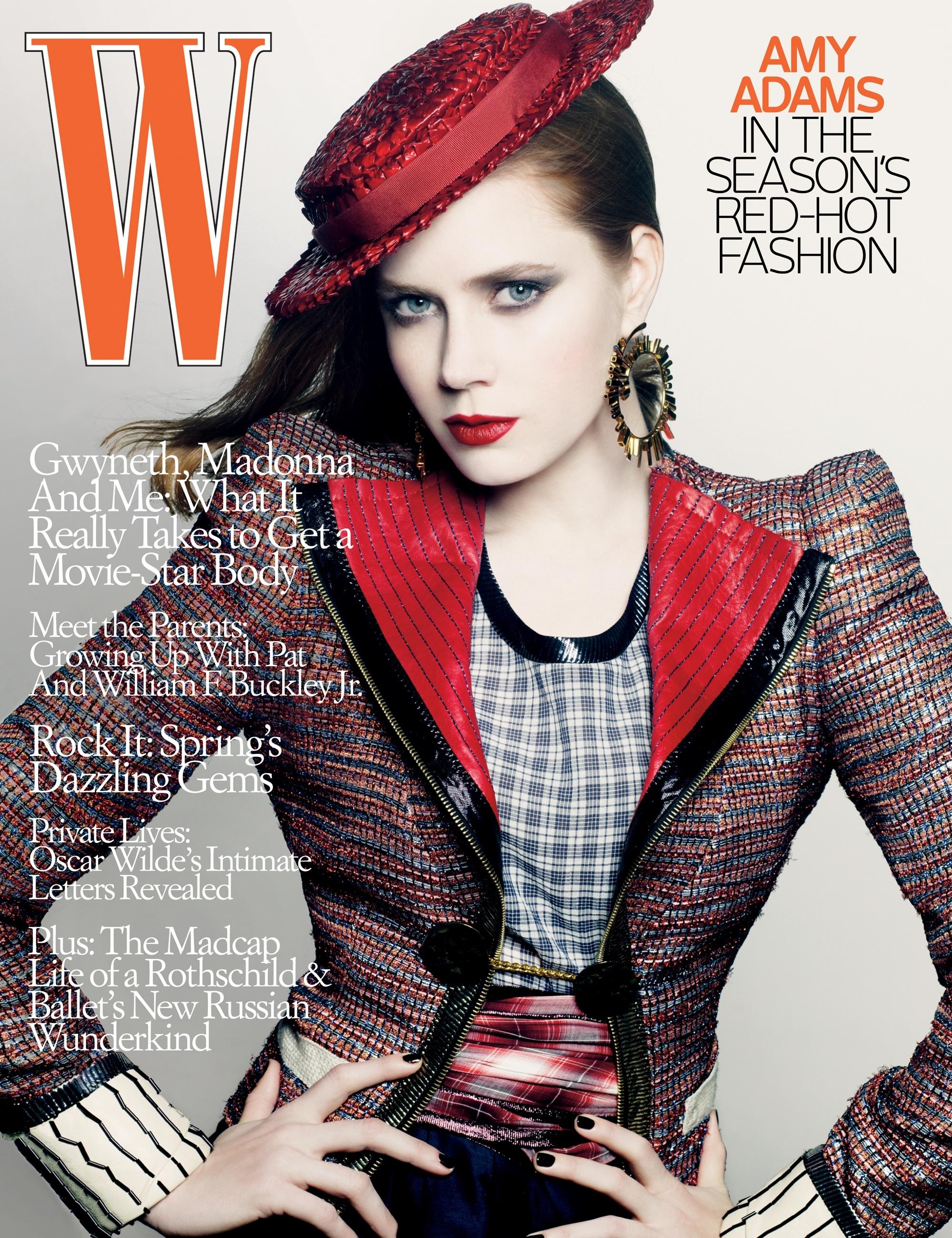 Amy Adams W Magazine