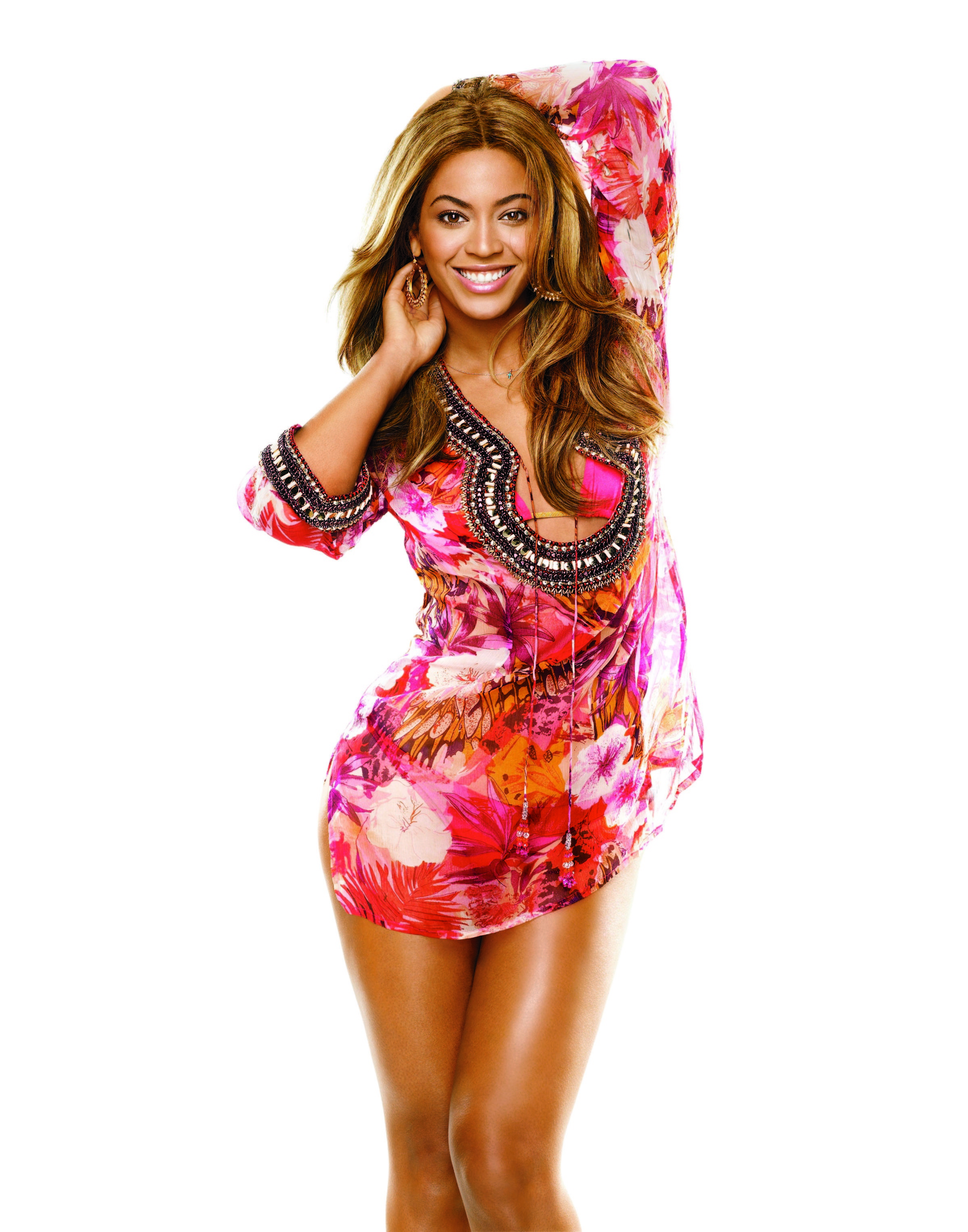 Beyonce in SELF magazine, June 2009