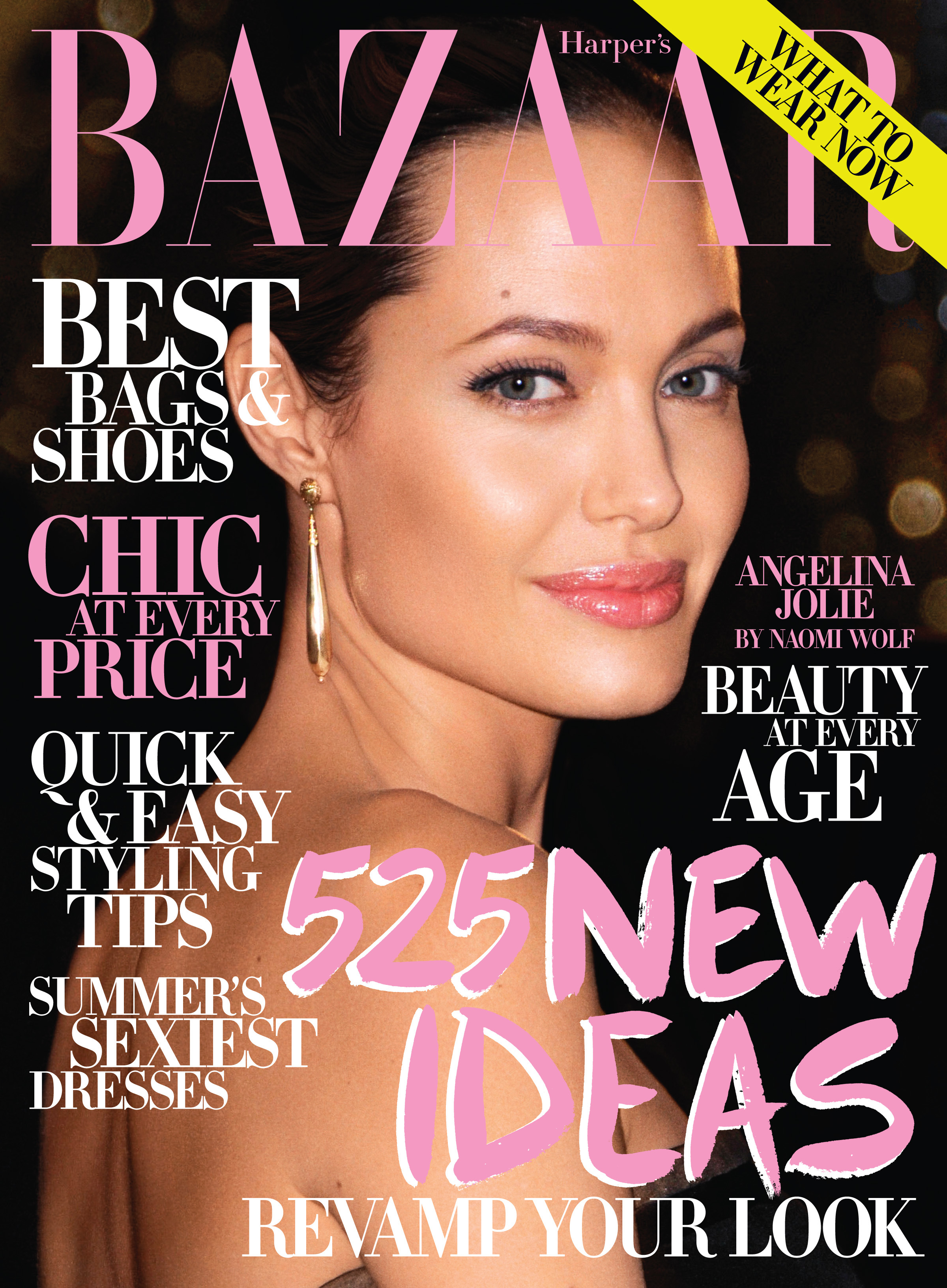Angelina Jolie Harper's Bazaar