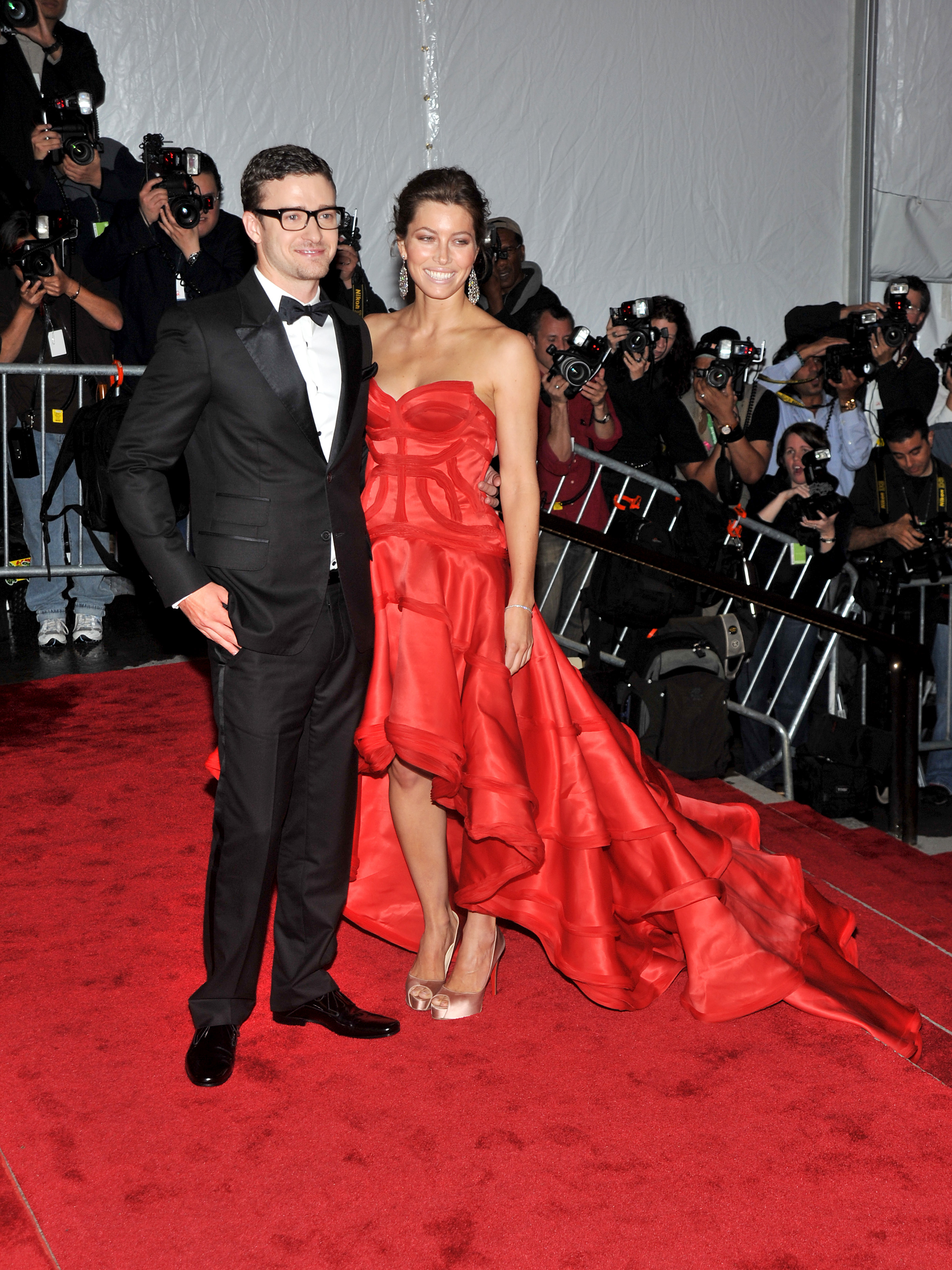 MetGalaRD_0049473 Justin Timberlake and Jessica Biel