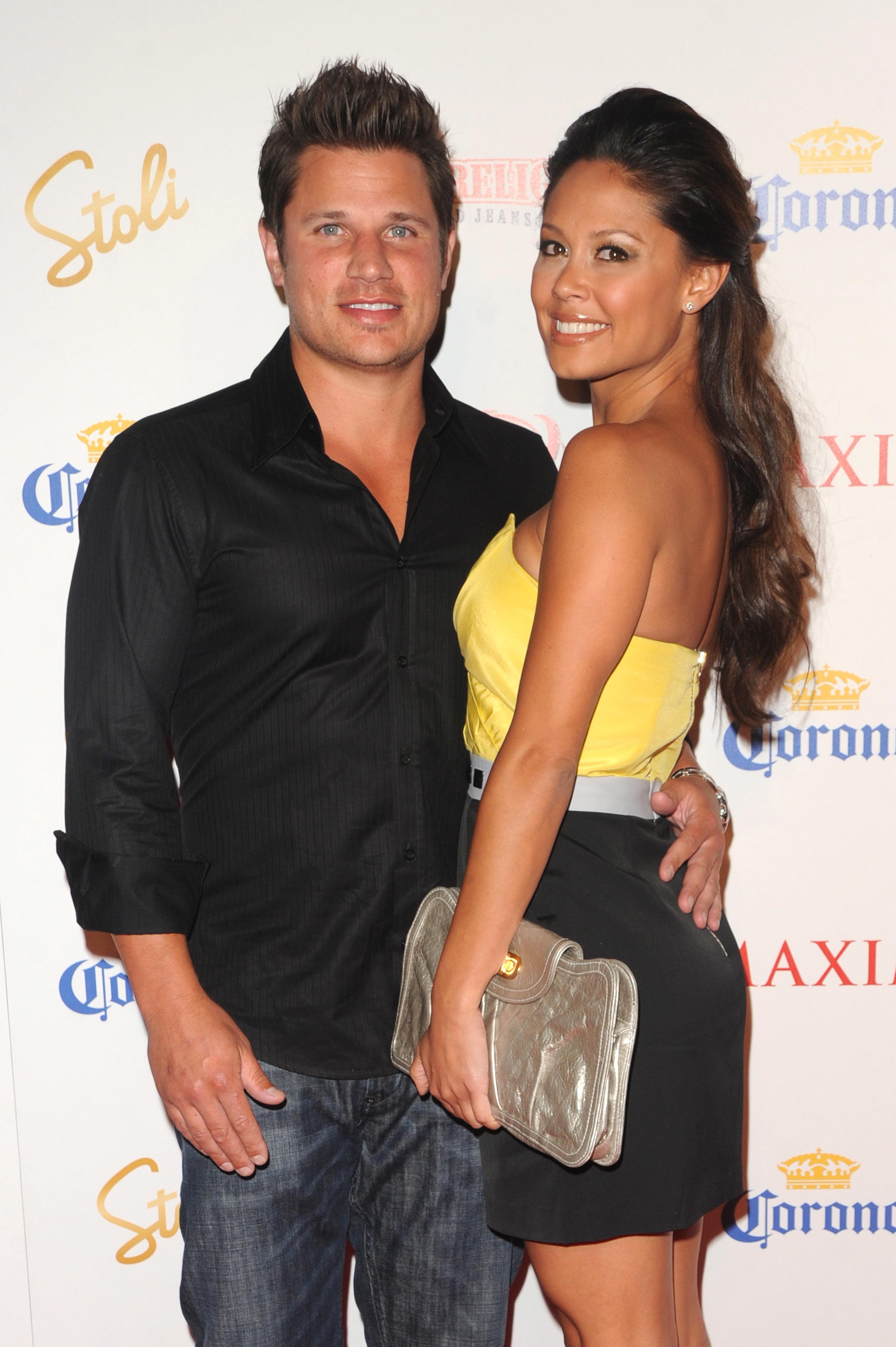 Lachey_Sd3244507 Nick Lachey and Vanessa Minillo