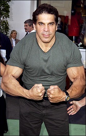 """The Hulk's"" Lou Ferrigno"
