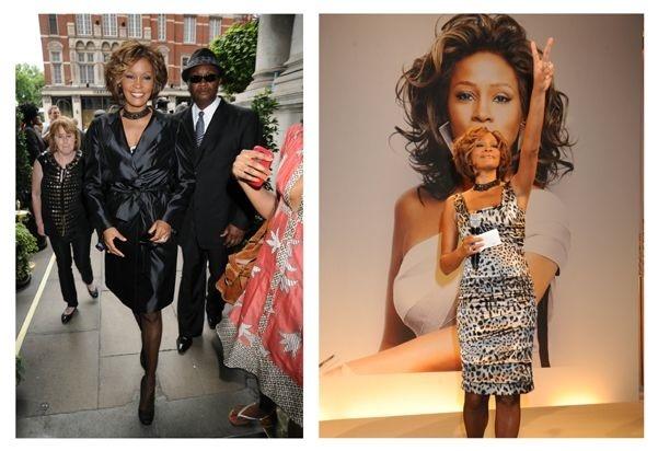 Whitney Houston, album artwork