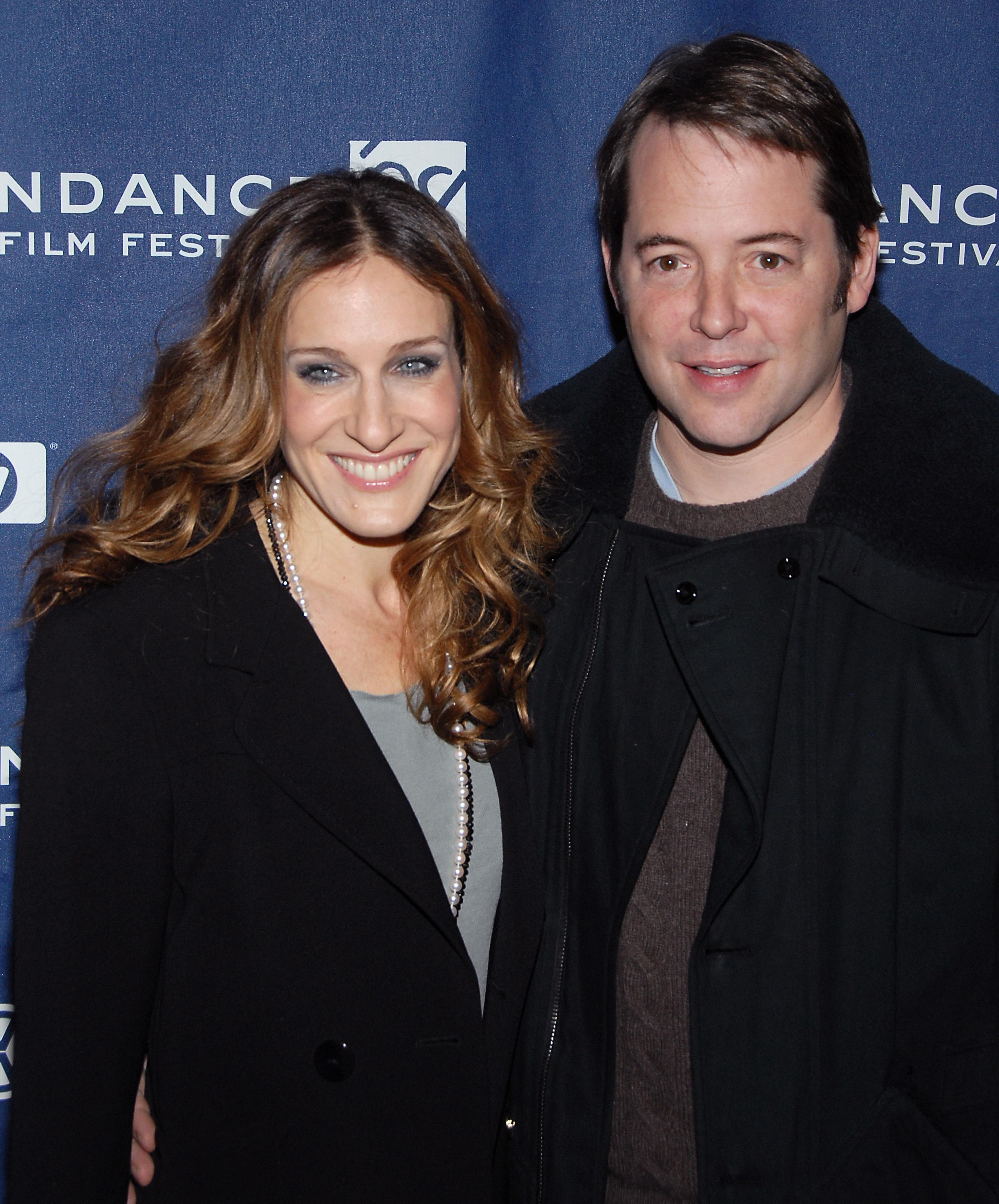 I   Sarah Jessica & Matthew 2