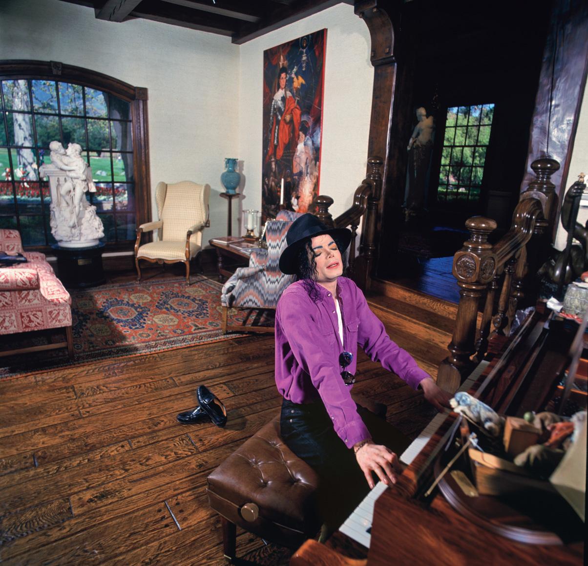 Michael Jackson, Architectural Digest