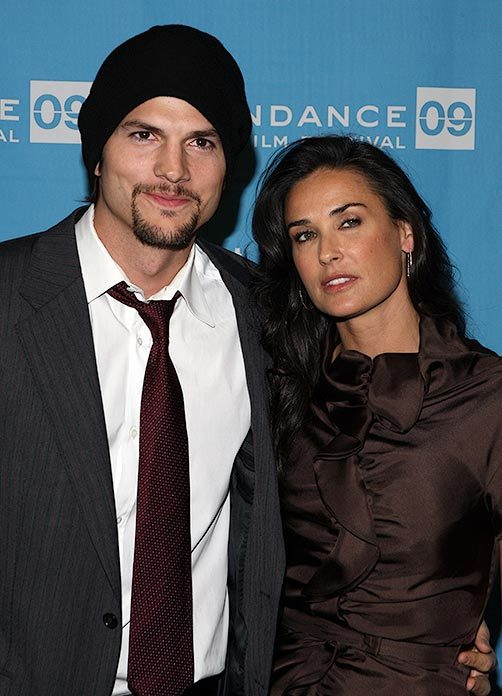Ashton Kutcher and Demi Moore at Sundance