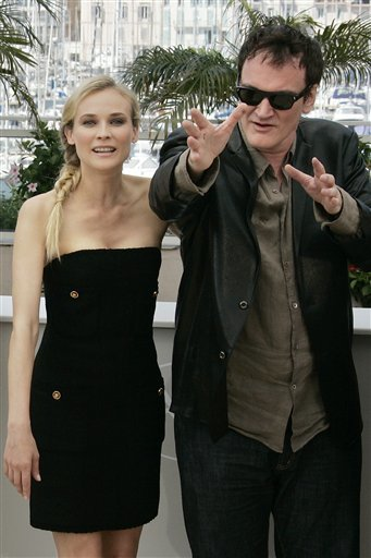 09052005221 Quentin Tarentino and Diane Kruger