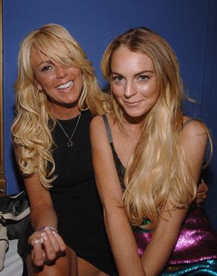 Dina Lohan and Lindsay Lohan.