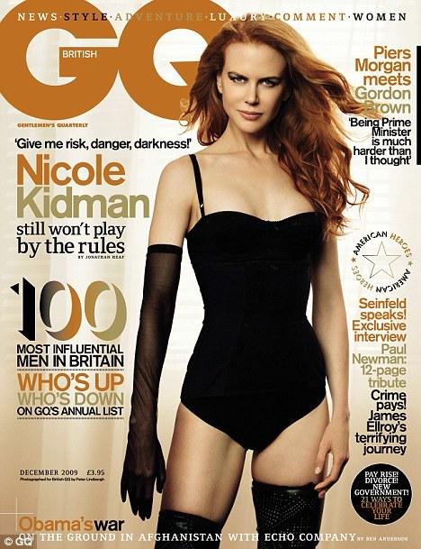 Nicole Kidman, Cover of GQ