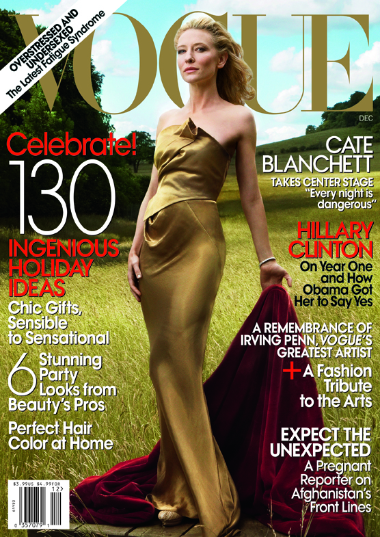 Vogue Cate Blanchett cover