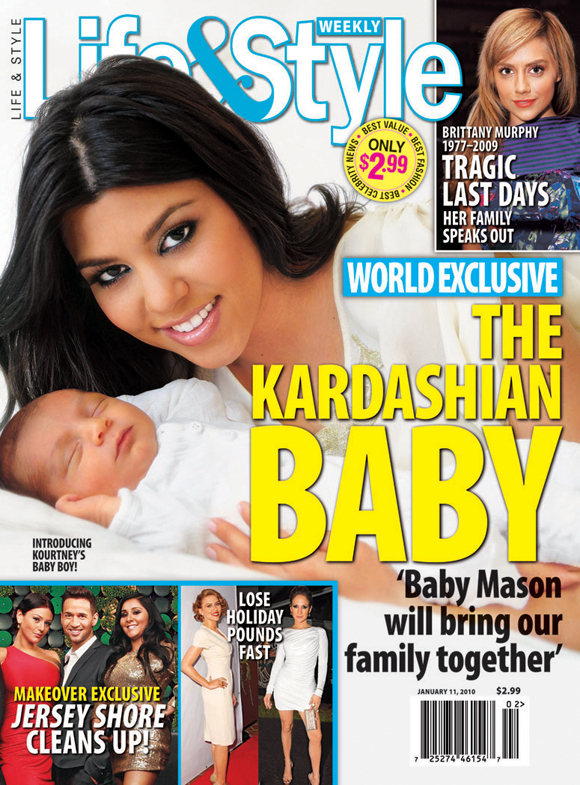 Kourtney Kardashian on Life & Style