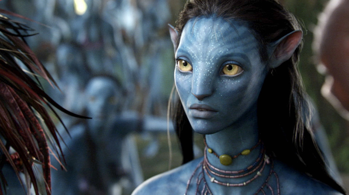 "Zeo Saldana in ""Avatar"""