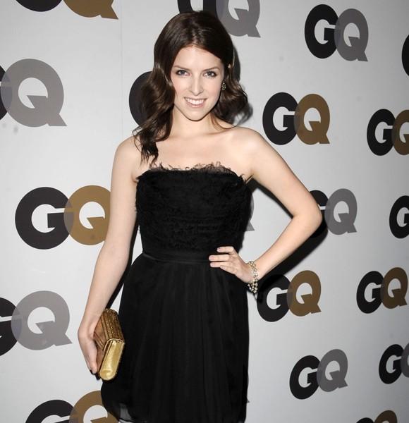 anna kendrick gq black dress
