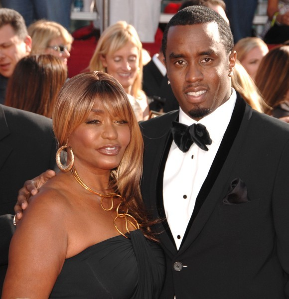diddy and his mom