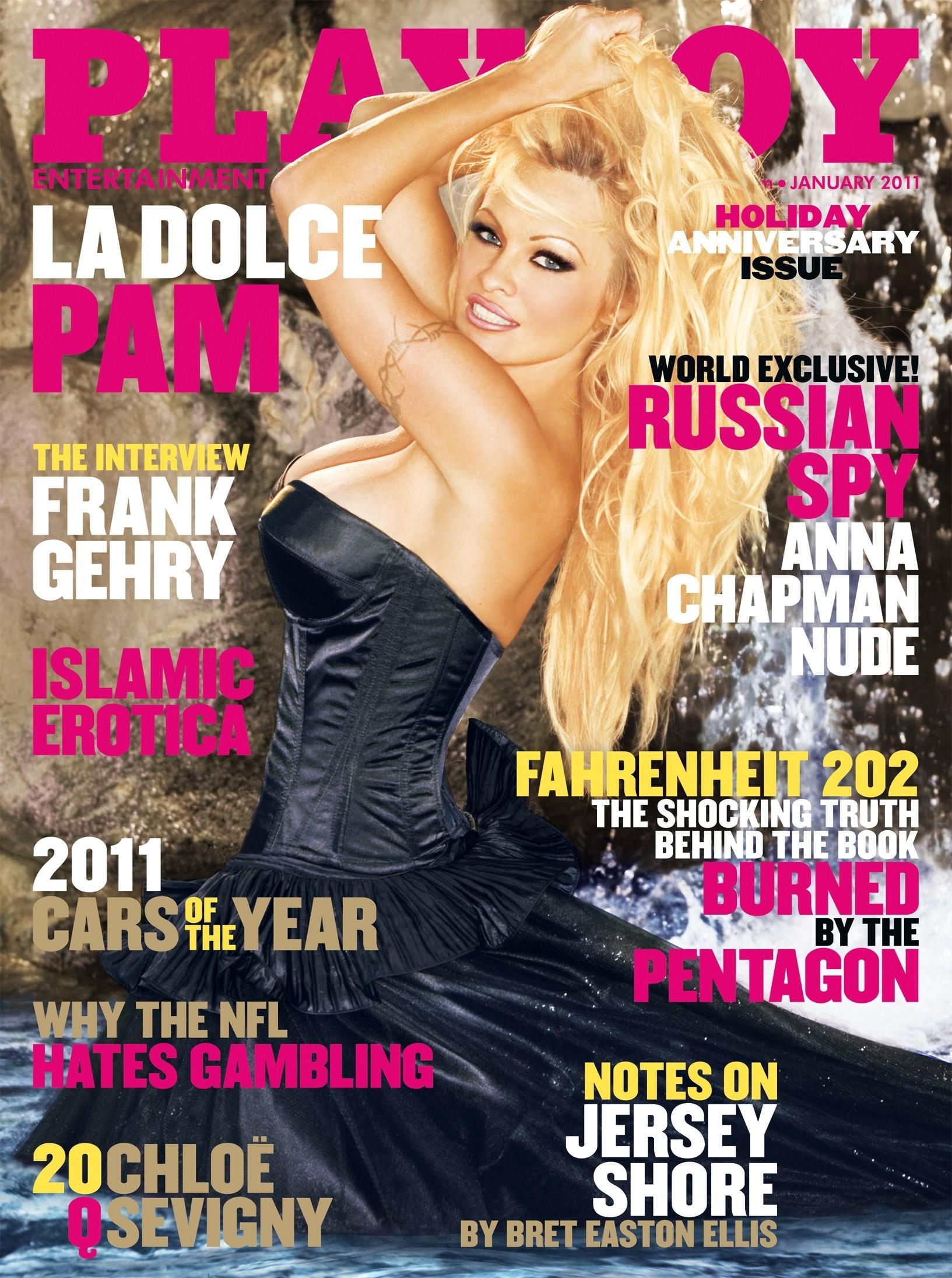 Pam Andersons Playboy Covers   Gallery   Wonderwall.com