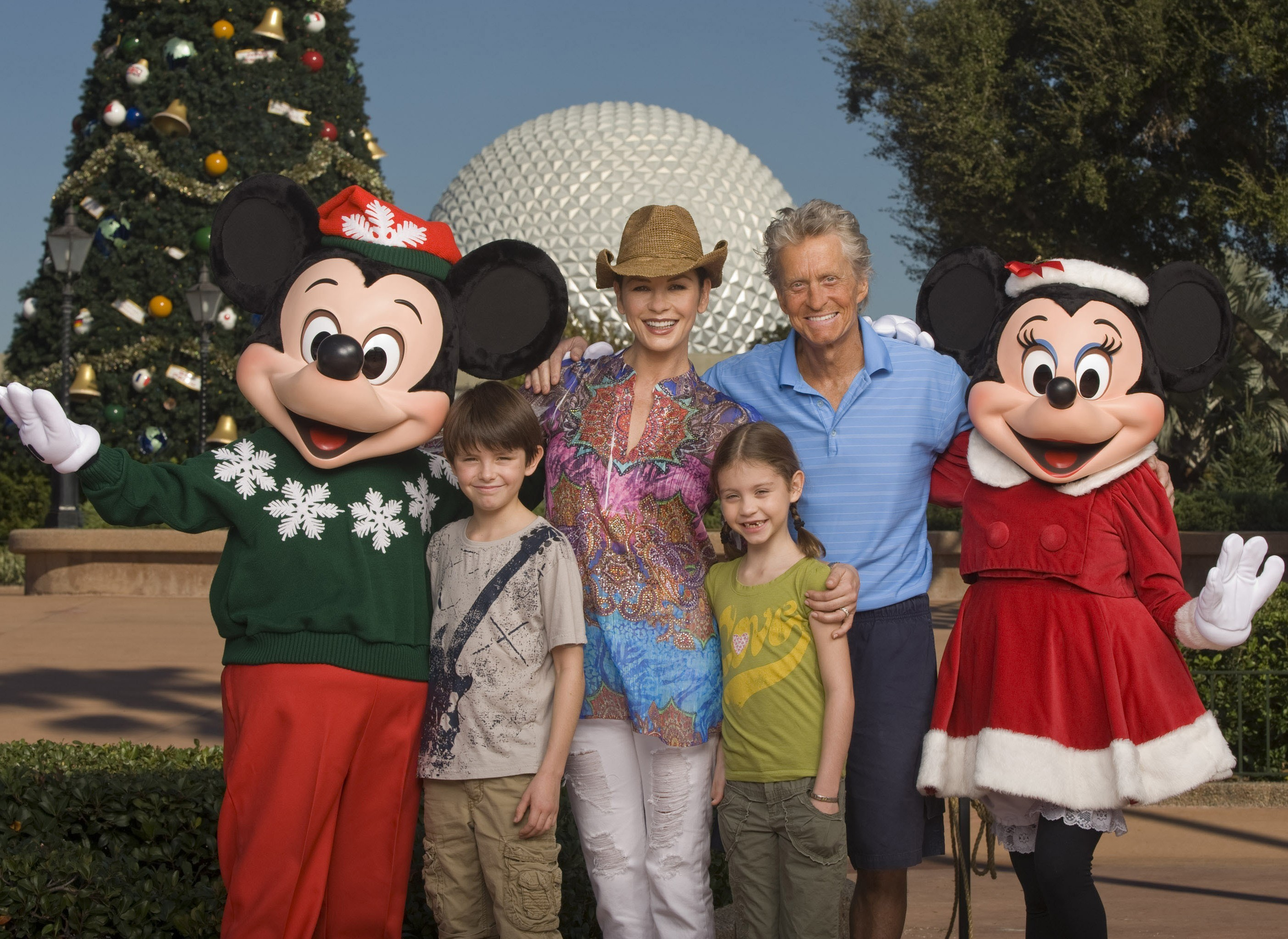 Michael Douglas and Catherine Zeta Jones family
