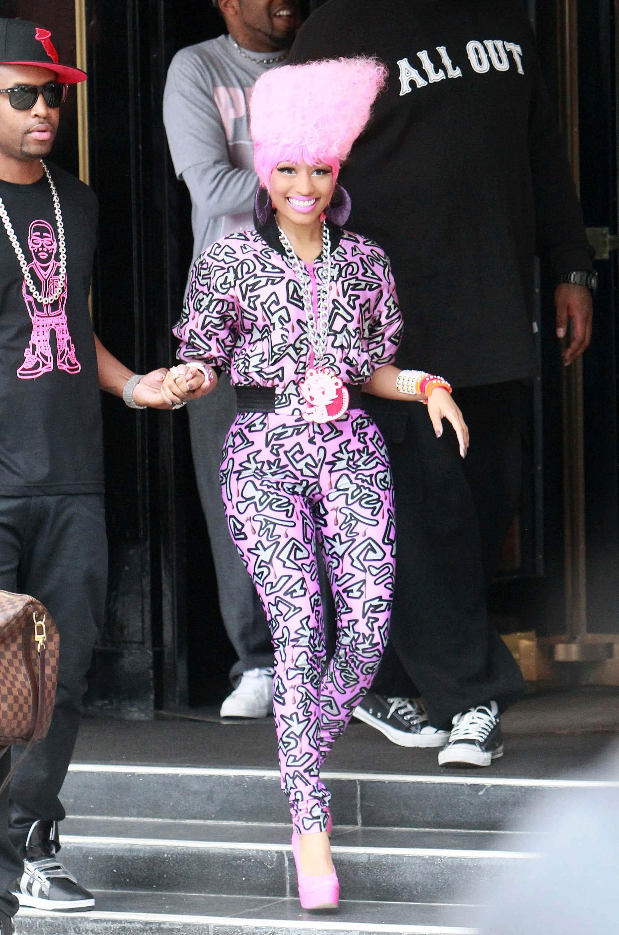 Nicki MInaj fashion
