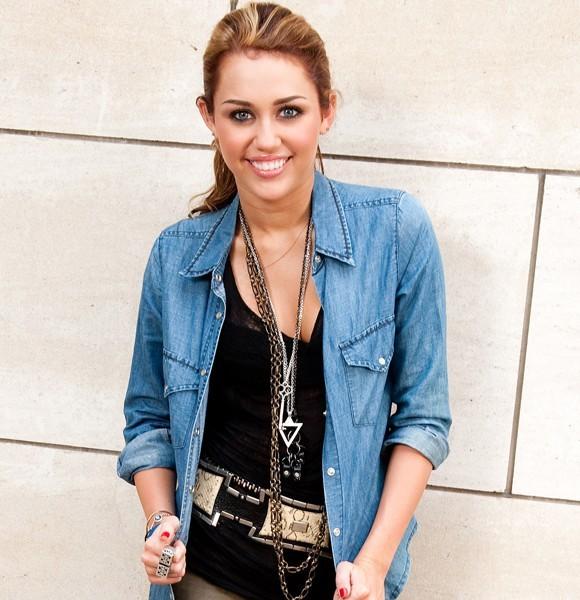 Miley Cyrus portrait new york
