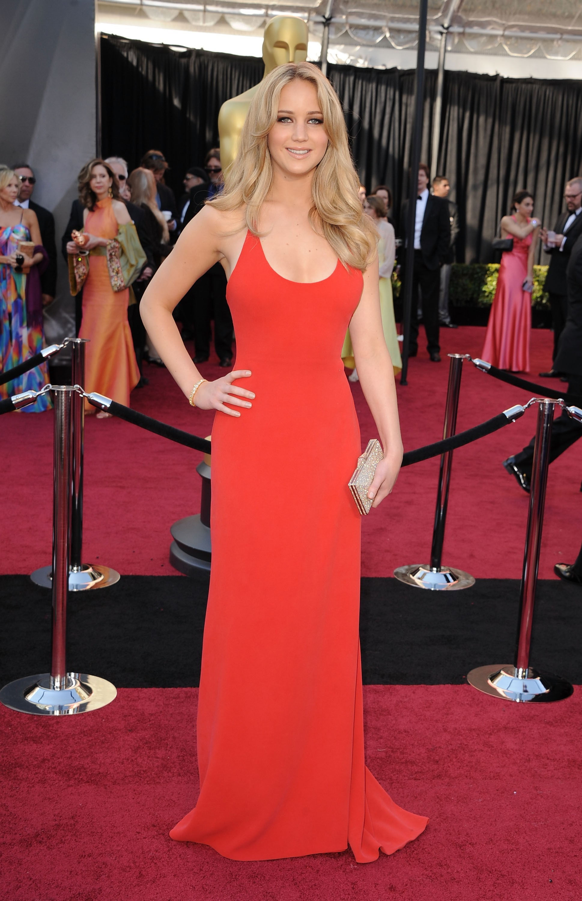 Best red dress moments on the red carpet