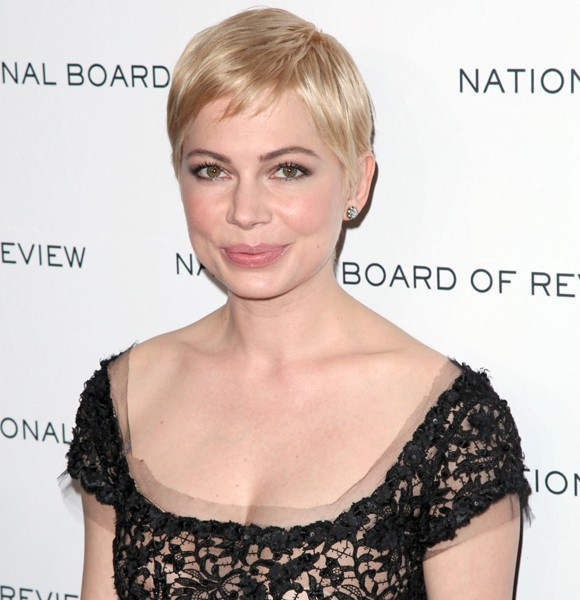 michelle williams pixie red carpet