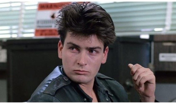 Charlie Sheen Ferris Buellers Day Off