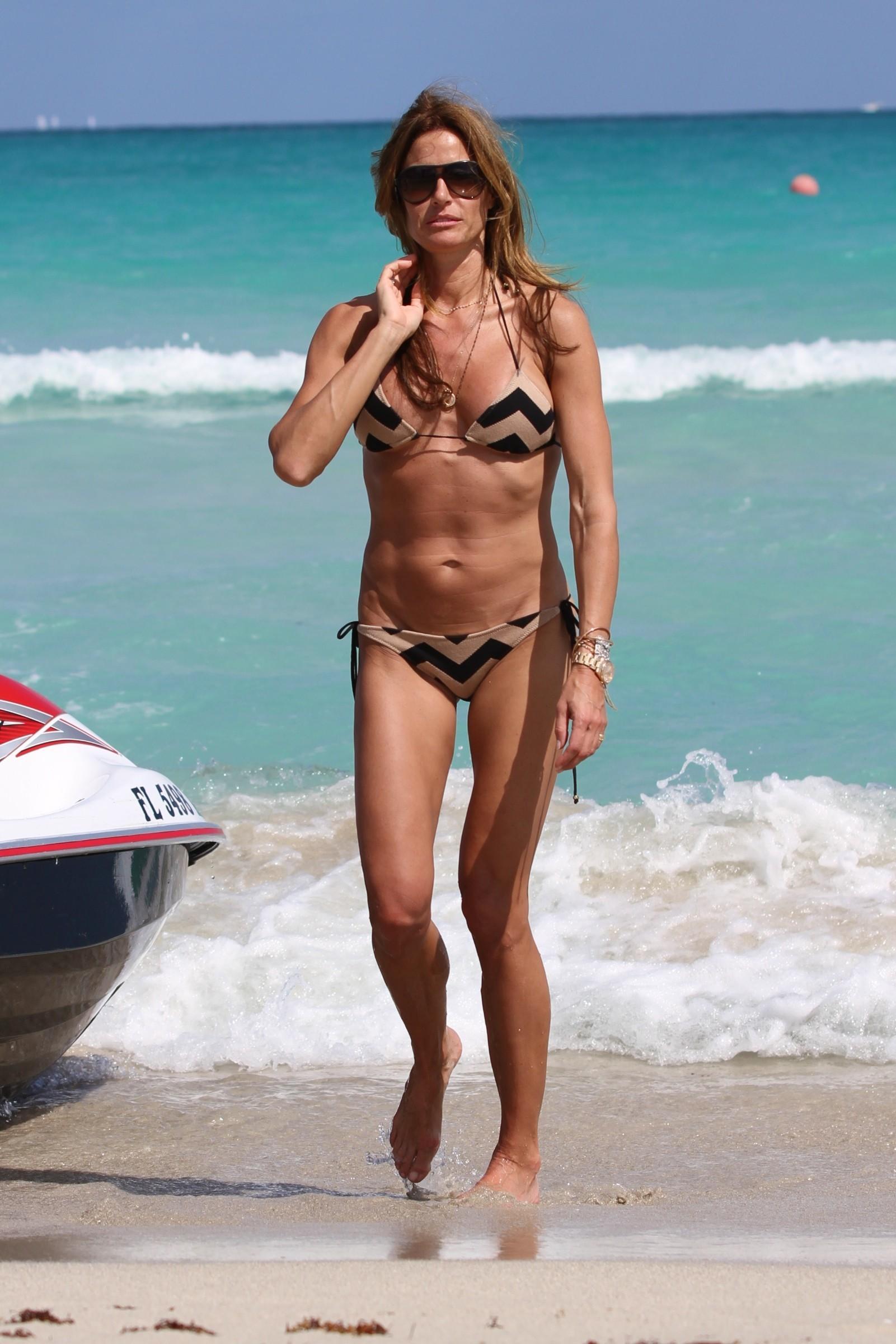 kelly bensimon bikini