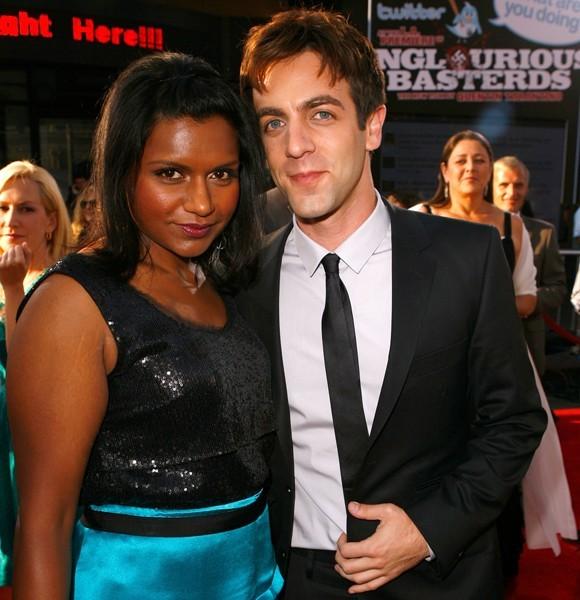 Mindy Kaling and B.J. Novak
