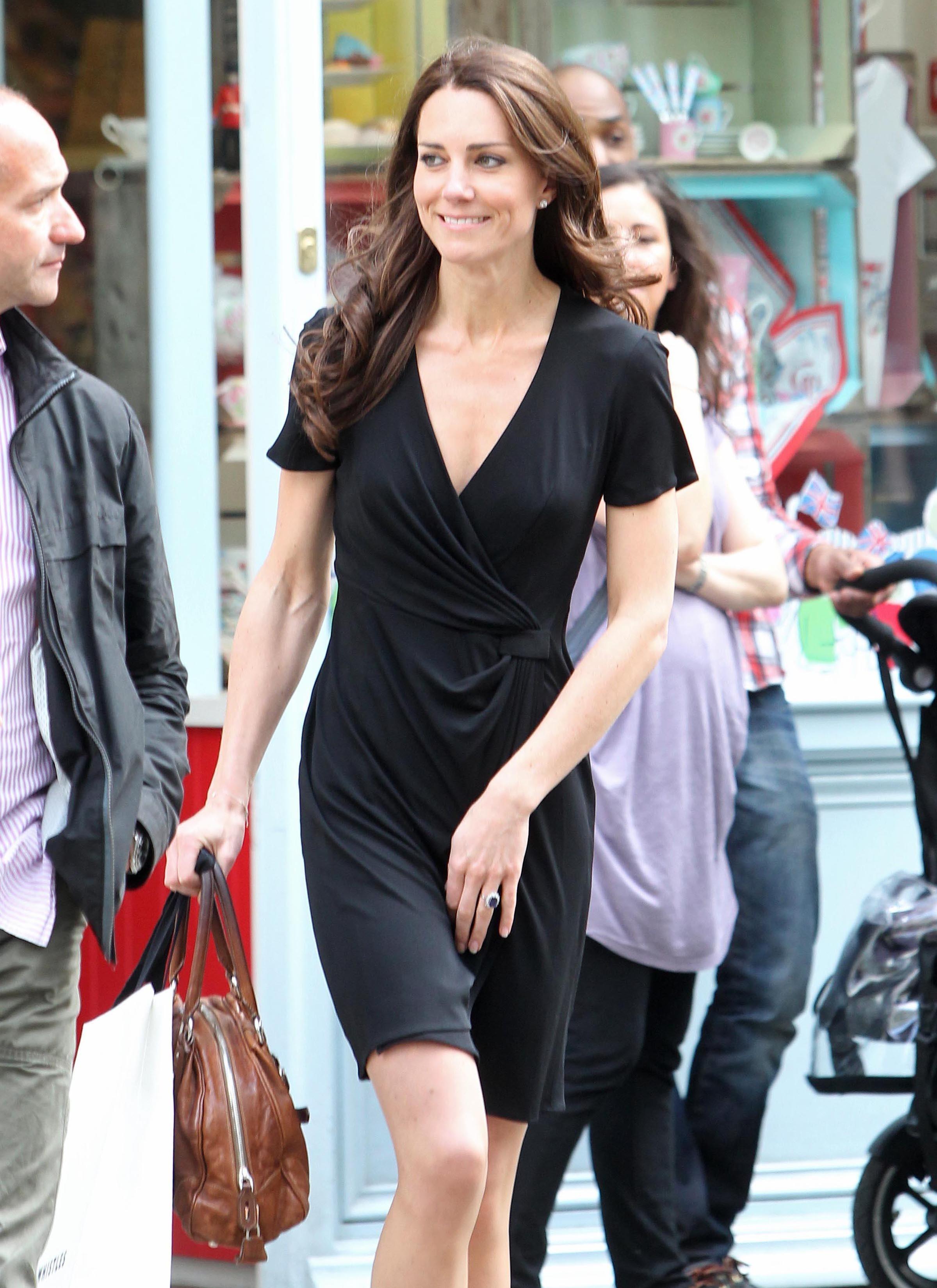 Duchess Kate shopping
