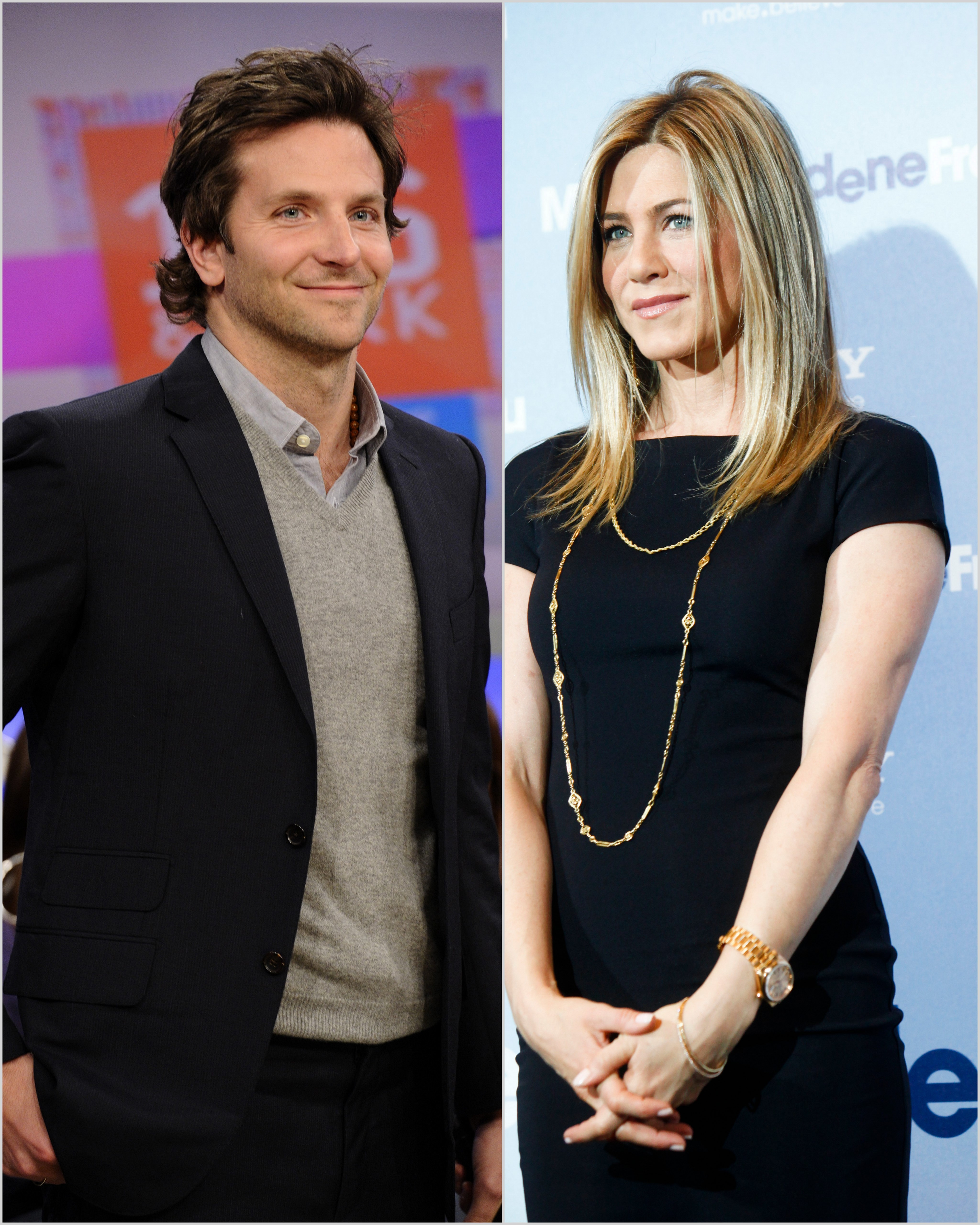 Bradley Cooper and Jennifer Aniston bipane