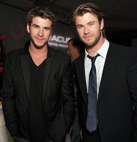 Liam Hemsworth, 27 and Chris Hemsworth, 33