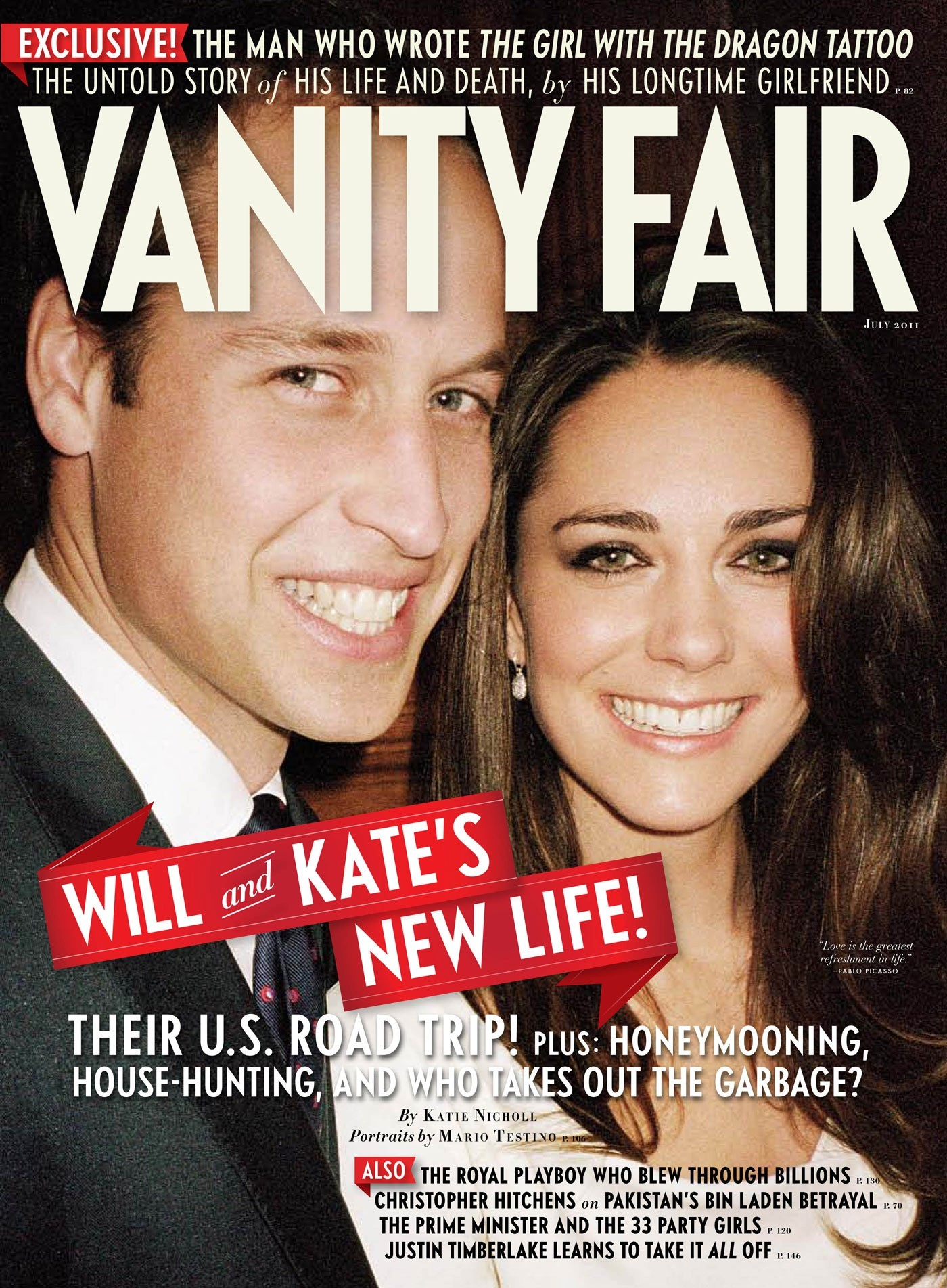Vanity Fair July Cover