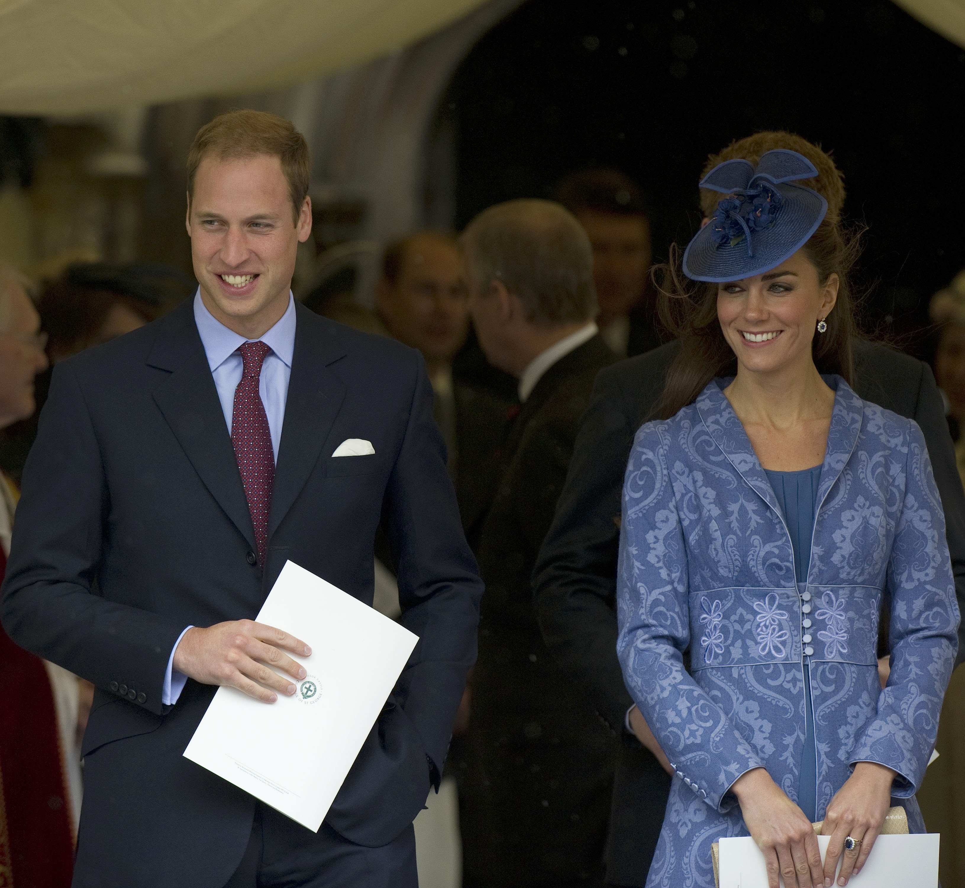 Duchess Kate prince william chapel