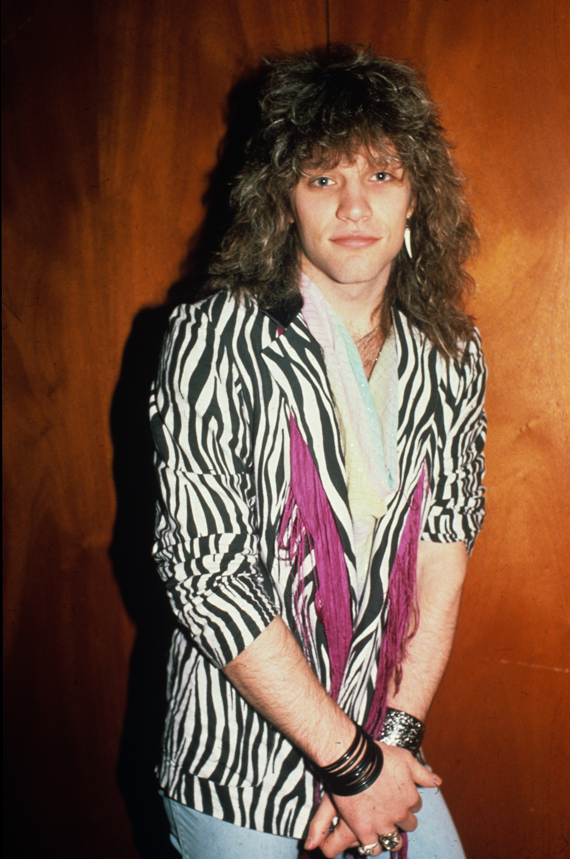 Jon Bon Jovi of Bon Jovi