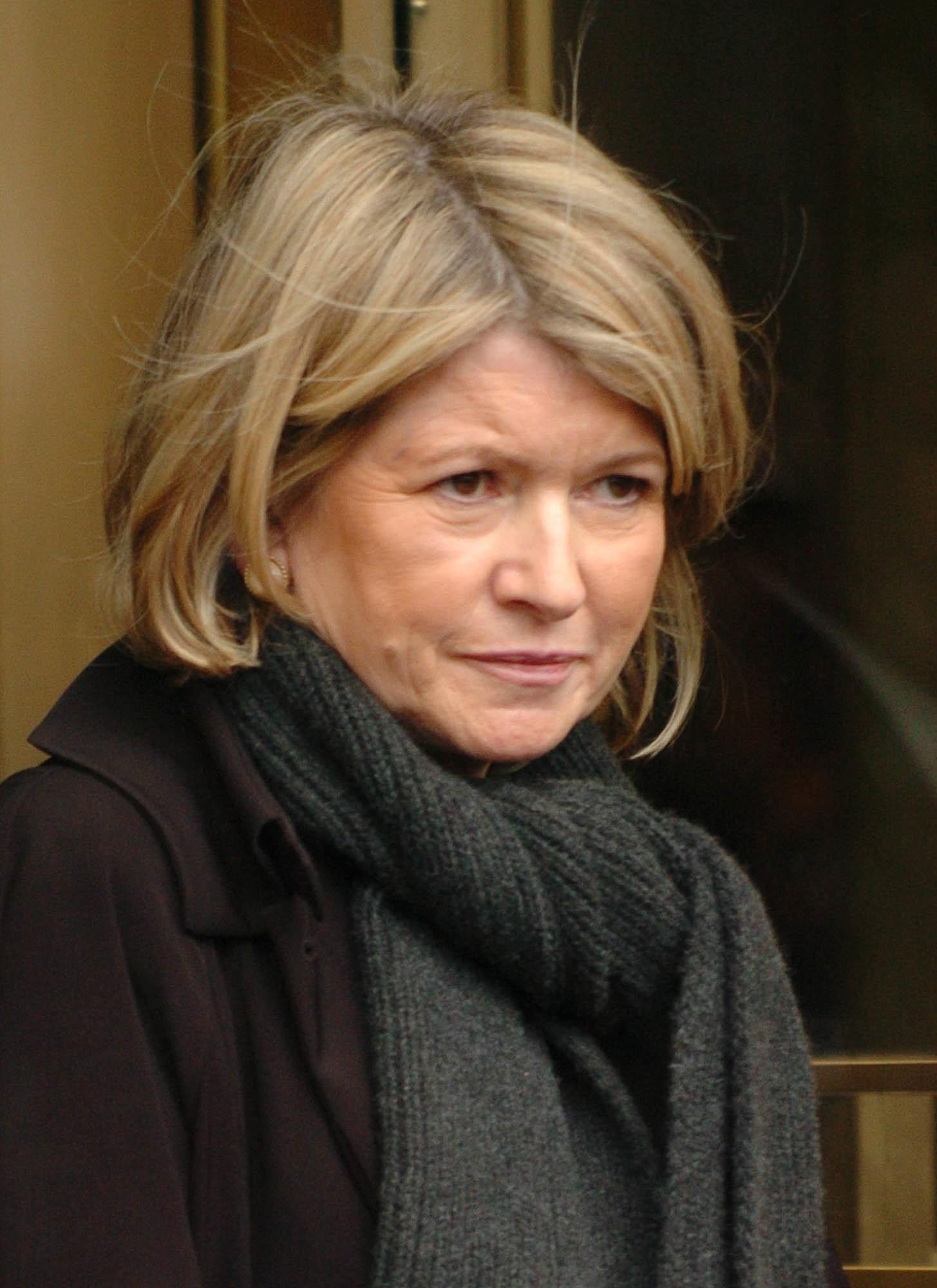 Martha Stewart served five months