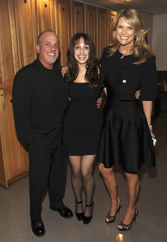 Christie Brinkley congratulates Billy Joel on his wedding