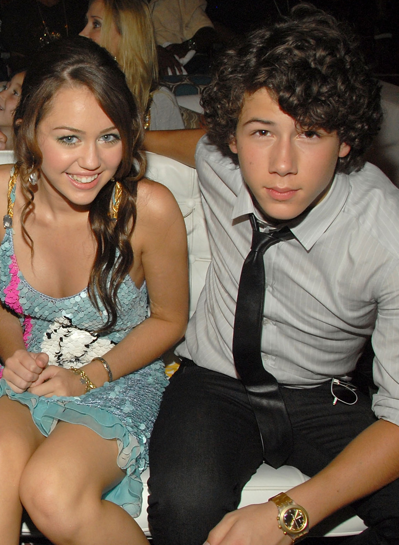 Miley Cyrus Nick Jonas