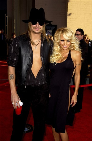 Kid Rock and Pamela Anderson: married for 122 days