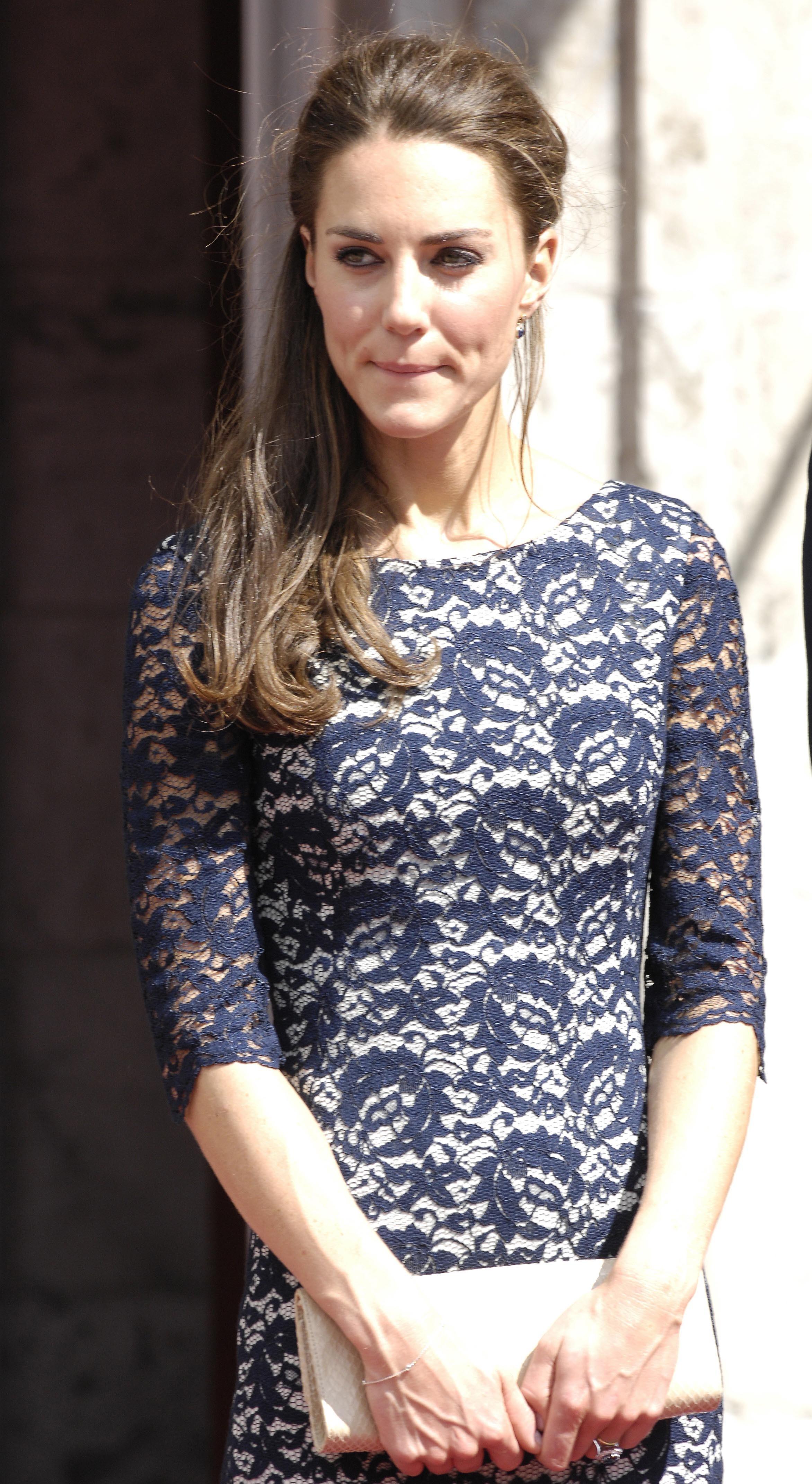 Duchess Kate regal