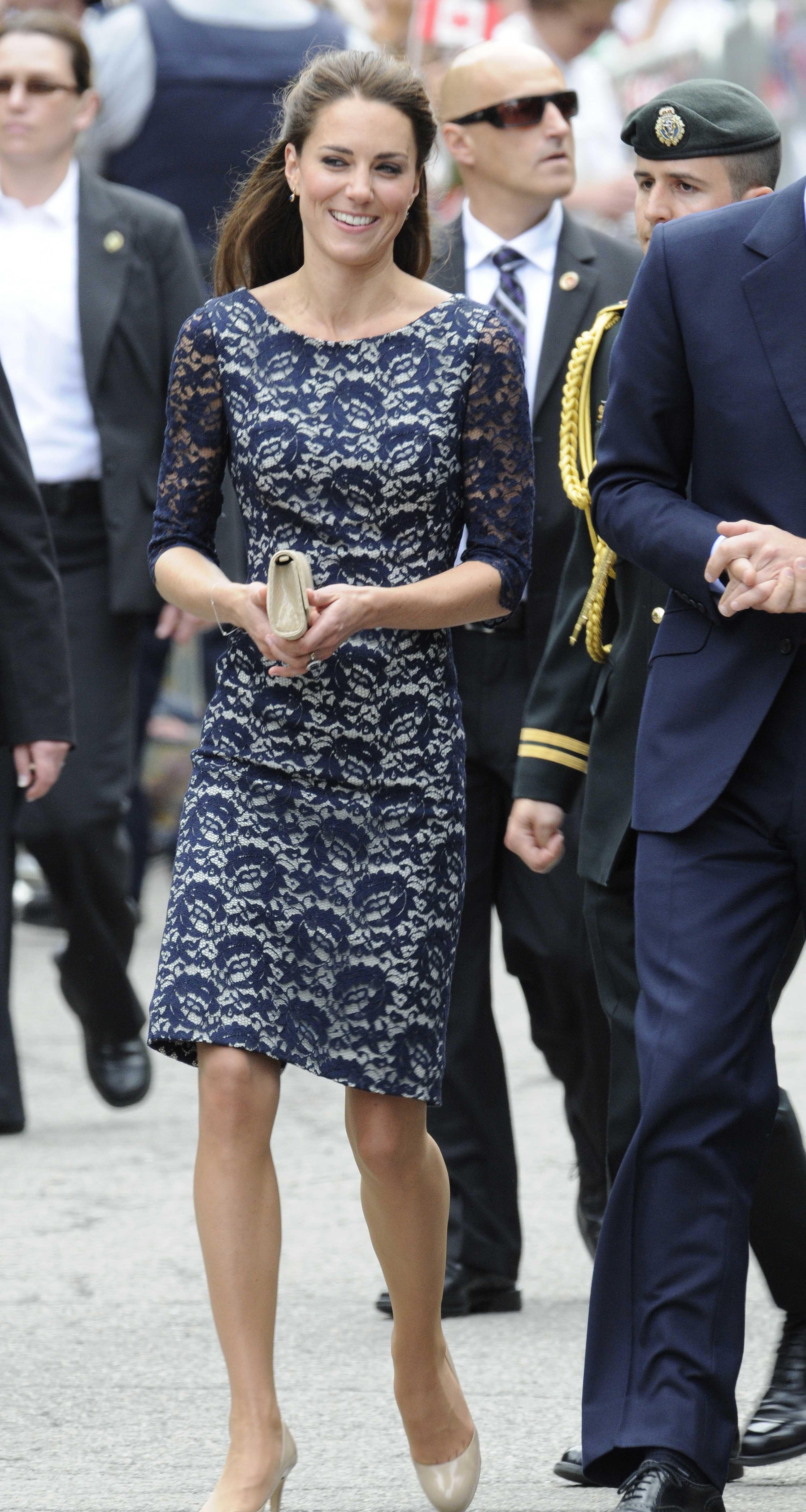 Duchess Kate lace dress
