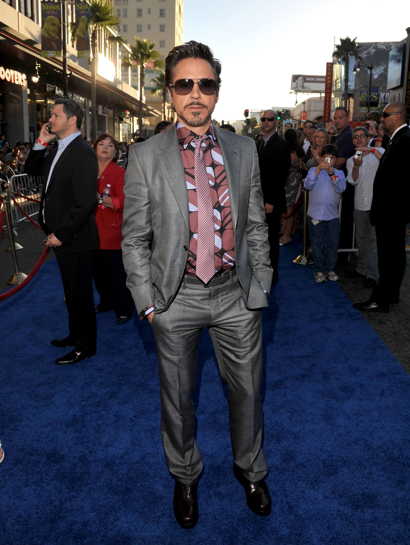 Robert Downey Jr. fashion