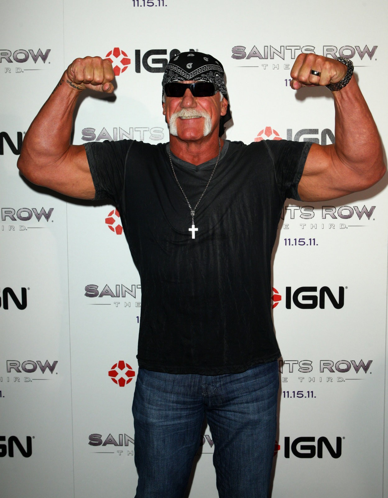 Hulk Hogan, IGN Party, Saints Row The Third 07212011
