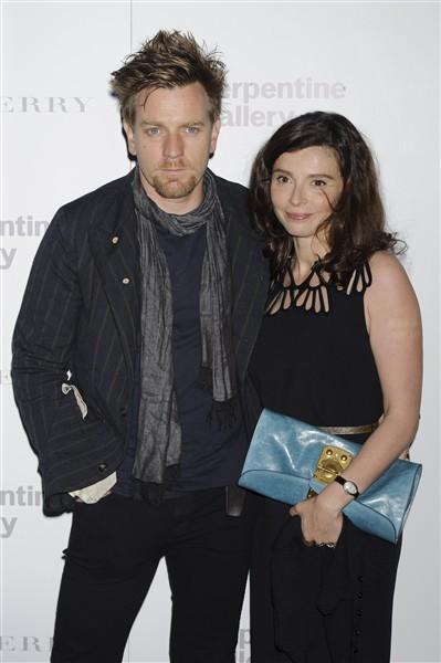Ewan McGregor and wife